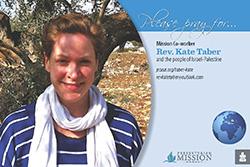 Kate Taber – Israel/Palestine