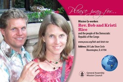 Bob and Kristi Rice – Democratic Republic of the Congo
